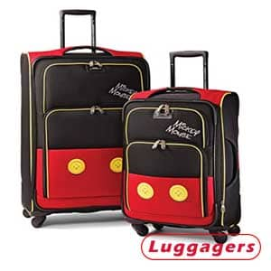 American Tourister Disney Mickey Mouse Luggage 2-Piece Set Luggage