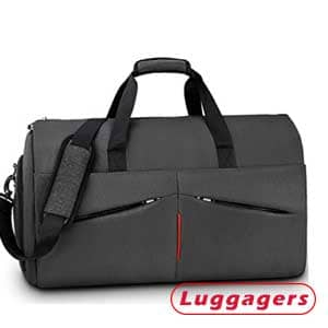 carry-on Garment Bag Convertible Suit Travel Bag with Shoes Compartment