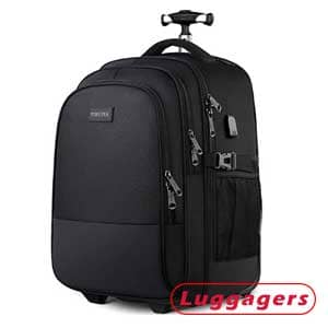 Yorepek Rolling Backpack With Wheels
