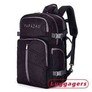 Papazau Travel Under-Seat Flight Carry On Backpack
