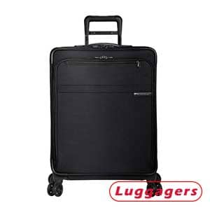 Baseline-Softside CX Expandable Spinner Luggage 25-Inch –Best Softside Carry-On