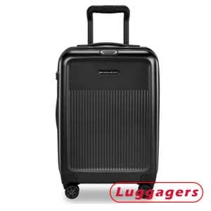Sympatico Hardside International Spinner Carry-On – Best for Additional Space