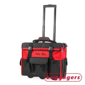XtremepowerUS 90700-XP 18-inch Wheeled Tool Bag – Best Wide Mouth Jobsite Rolling Toolbox
