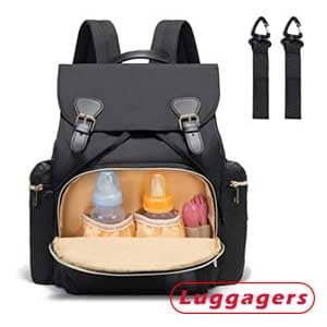 YaKuss Diaper Bag Backpack – Best for easiest cleaning